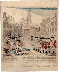 Boston Map 1770 by Paul Revere U0027s Engraving Of The Boston Massacre 1770 The Gilder