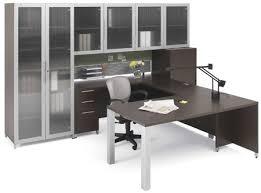 Computer Hutch Desks With Doors Quadlacasse Office Furniture