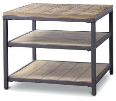 Rustic Accent Table Side Table Target Wood Metal Side Table End Side Table