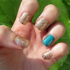 nails of the day notd glitter gel manicure cosette u0027s beauty
