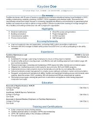 sample resume for warehouse supervisor building maintenance resume samples inspiration decoration professional facilities maintenance lead templates to showcase building maintenance resume