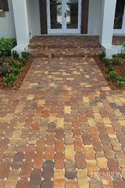 Home Depot Patio Bricks by Stone Texture Exterior Design Terrific Tremron Pavers For Your