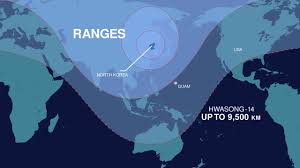 Map Of World Korea by North Korea Says It May U0027reduce The Us Mainland To Ashes Any
