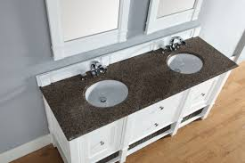 Bathroom Vanity Counter Top by Abstron 72 Inch Cottage White Finish Bathroom Vanity Stone