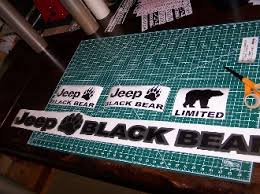 black and turquoise jeep jeep wrangler black bear jk unlimited fender decals sport rubicon jk