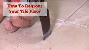 How To Regrout Bathroom Tile Regrouting A Bathroom Floor Wgn Tv