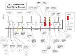 1973 beetle wiring diagram 1973 beetle fuse wiring