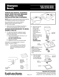 F115 Wall Mount Belvedere Bv5001394 Installation Guide