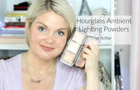 hourglass ambient lighting powder review hourglass ambient lighting powders review face swatches youtube