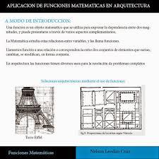 imagenes matematicas aplicadas arquitectura y modelos matematicos funciones matematicas aplicadas
