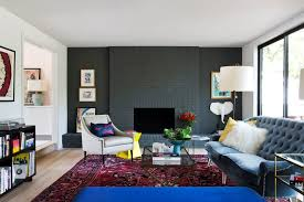 painting a living room charcoal painting living room contemporary with blue tufted couch