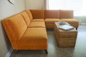 Retro Sectional Sofas Mid Century Modern Sectional Sofa 1960s 1970s Vintage