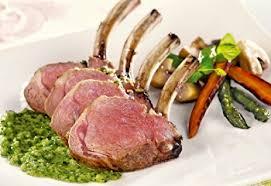 cuisiner un carré d agneau fiche recette carré d agneau du québec à la sauce chimichurri