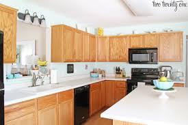 kitchens with light oak cabinets oak cabinet kitchen lovely kitchen cabinet makeover reveal