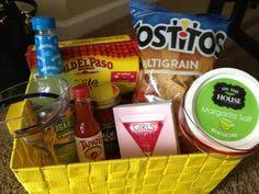 mexican gift basket cinco de mayo themed basket bunko prize or great for raffles