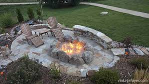 Backyard Campfire 30 Red Ideas For Your Backyard Fire Pit Design