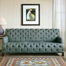 teal chesterfield sofa robert redford teal linen tufted chesterfield sofa