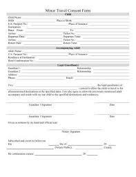 parental release form