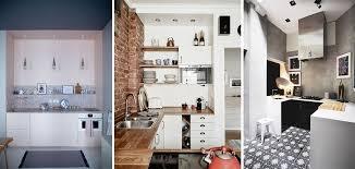 amenagement cuisine espace reduit amenagement cuisine espace reduit 7 cuisine carrée vue de dessus