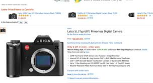 amazon black friday 2017 gps navigator do not buy this leica sl on amazon u2013 steve huff photo
