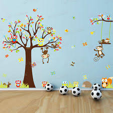 ABC Wall Stickers EBay - Animal wall stickers for kids rooms