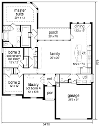 2300 square foot single story house plans