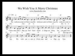 play trumpet clarinet we wish you a merry