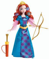 amazon disney princess colorful curls merida doll toys u0026 games