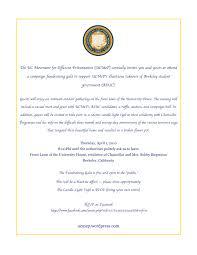 invitation to ucmep u0027s campaign fundraising gala uc movement