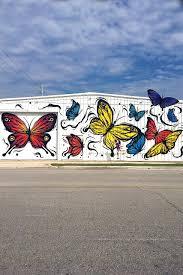 wear where well wall 37 butterflies wall by fabio panone