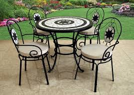 Garden Bistro Table Innovative Mosaic Bistro Table And Chairs With Garden Bistro Sets