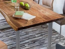 Esszimmertisch Quentin Sam Stilvoller Esszimmertisch Quarto Cm Aus Akazie Holz Tisch Mit
