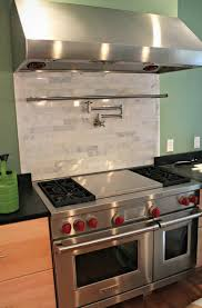 Kitchen Metal Backsplash Ideas by Kitchen Stove Backsplash Ideas