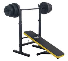 argos gym bench buy everlast folding bench with 50kg weights at argos co uk your