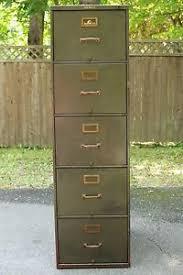 vintage metal file cabinet industrial vintage shaw walker 5 drawer metal filing cabinet w key