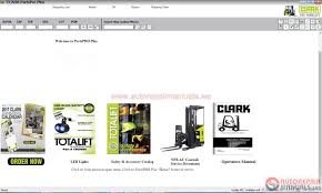 clark forklift parts pro plus v452 06 2017 full instruction