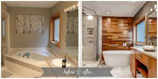 spa like master bathroom remodel construction2style before after