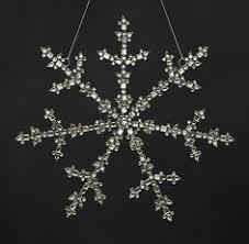 glass snowflake restoration hardware holidays