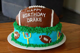 football cake how to make a football cake ducks n a row