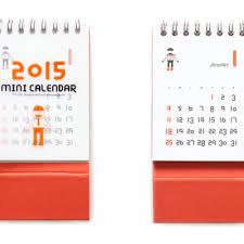 Small Desk Calendar 2015 2015 Mr Babba Mini Desk Calendar Mochithings