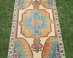 Large Low Pile Rug Rugs Etsy