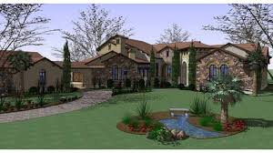 7 bedroom house plans home plan homepw74300 7752 square foot 6 bedroom 7 bathroom
