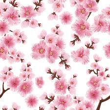 flowers seamless pattern element vector background vector sakura flower seamless pattern element elegant cherry
