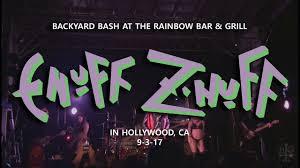 enuff z u0027 nuff backyard bash rainbow bar u0026 grill in hollywood