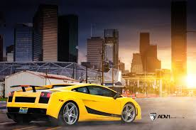 lamborghini gallardo superleggera yellow gallardo superleggera tuned by evs adv1 evs gallardo 170812 2 hr