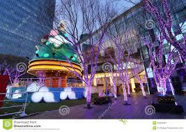 shopping mall and christmas tree stock image image 36324901