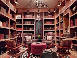 manly bedroom ideas office library design small den library