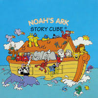easter and noah s ark christian story cubes