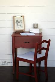 Repurpose Changing Table by Red Side Table Repurposed Sewing Cabinet My Repurposed Life