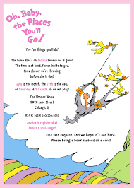 oh baby the places you ll go dr seuss baby shower invitation oh baby the places you ll go